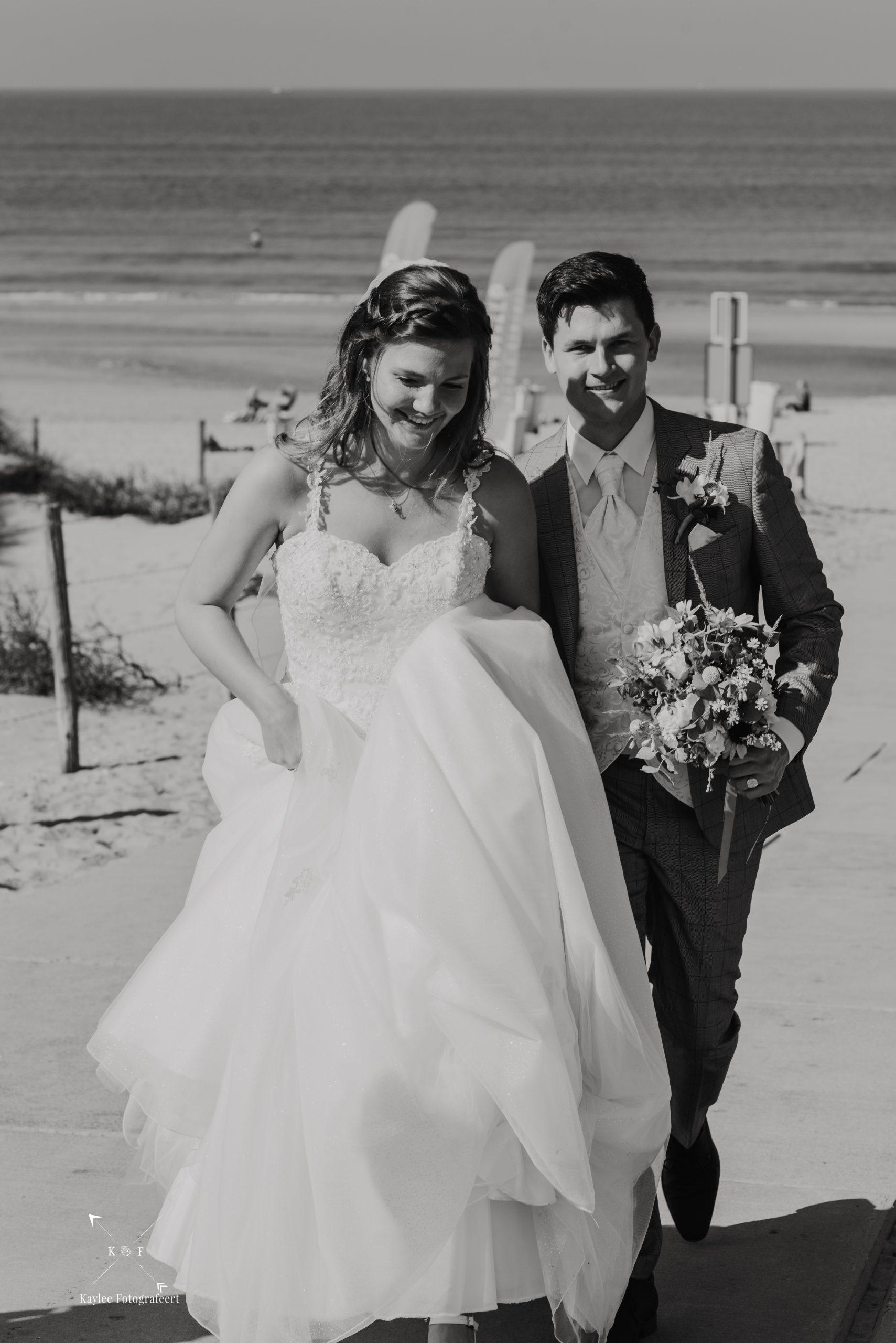 Bruidspaar J & J, juli 2020